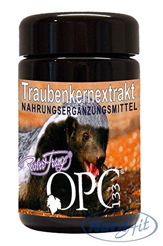 Original Robert Franz Traubenkernextrakt OPC 133 - 60 Kapseln (26,79 g) -